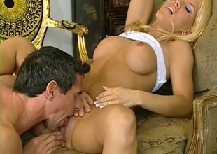 Piano playing Blonde gets an anal symphony from Peter. Anal, Multiple positions, great cumshot.