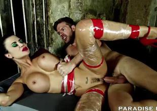 Nephelococcygia FILMS Jasmine Jae is a Creampied sex slav
