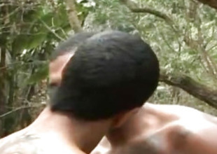 Cum Swapping Unconcerned Hard Sex Open-air