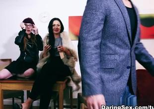 Samantha Bentley,Hanna Shaw,Sasha Kash with respect to Her Sweet Berate Scene Scene