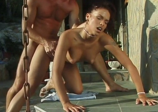 Temptingly beautiful babe Niki Bellucci knows how to make sex unforgettable