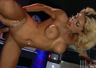 Foxy pornstar with a piercing animalistic bonked hardcore regarding hoop-like up shoot