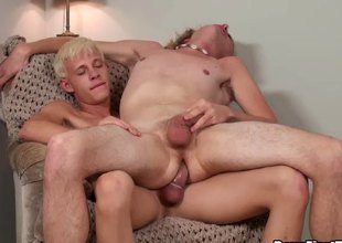 Explore a hot gay blowjob he bends him unrestraint increased by fucks him hard