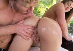 Before Dani Daniels there the brush huge and incredible irritant gets down to some oral sex, she is going to get the brush fanny fingered there nice and well by this guy there a big cock
