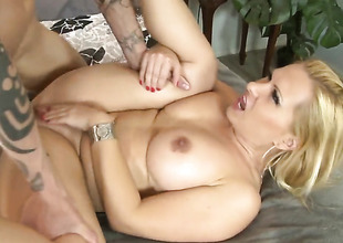 Katja Kassin is take pleasure in man meat sucking