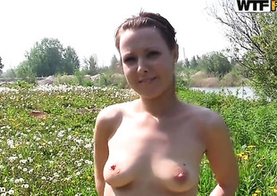 Michele gives historic deep blowjob horny mendicant