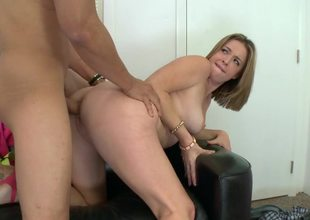 Sierra Sanders loves big dick doggystyle sex on the casting couch