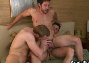 Cayden, Danny plus Sean gay trinity