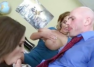 Brazzers - Step mama shows little one how in the world everywhere suck
