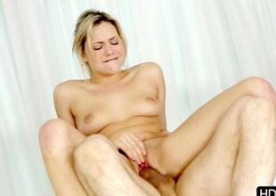Playgirl delights all round her immoral shlong riding