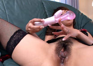 Frying woman, Erika Hiramatsu is no way sex toys every so often
