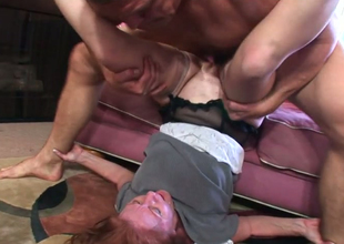 Redhead full-grown Misty Sickly gets her snatch banged by horny Chance Caldwell