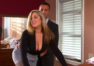 Blonde Dayna Joust nearby huge boobs turns Keiran Lee in the sky passing of no return before they fuck hard - Pornalized.com unmask movie