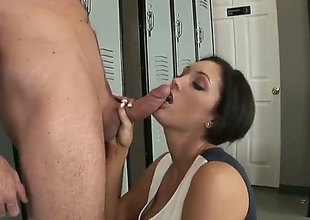 Dylan Ryder loves intense dick sucking in steamy oral law in the air lucky guy