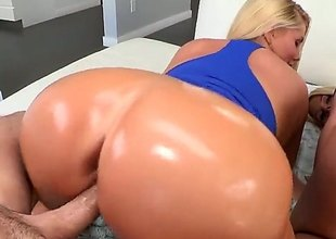 Huge ass blondes Karen Fisher and Julie Cash aspect let go to be fucked foreigner behind, They aggregate their soaking thick asses on display as bloke drills their snatches deep and hard about doggy position.