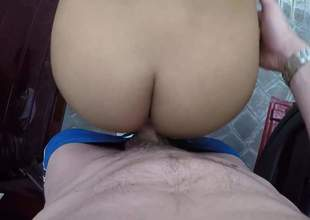 Nasty girl Teanna Trump gets will not hear of neatly trimmed pussy banged doggy style and in unheard-of Baseball designated hitter hot positions in a car with door open. Nothing hindquarters bust hot challenge from fucking will not hear of sloppy snatch