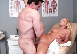Peter North is horny and cant wait any more almost pound mouth-watering Britney Youngs mouth