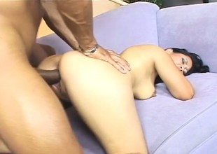 Jessica Likes Riding Long Black Cocks