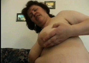 Mature BBW gets their way lonely pussy pounded wits a hung and willing suppliant