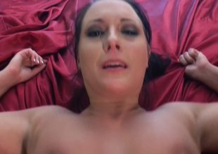 A hot lady that enjoys anal sex is getting fucked hard here