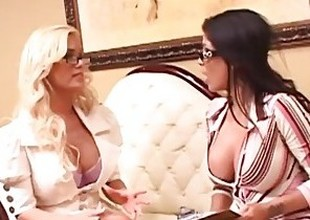 Shyla Stylez and Alexis Amore Enjoy Dealings