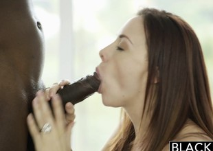 BLACKED Retinue Jade Nile increased by Chanel Preston Enjoy BBC
