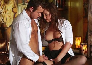 A chance forth bed his horny secretary