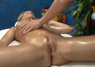 Mia Malkova rubbed and fucked by say no to masseur