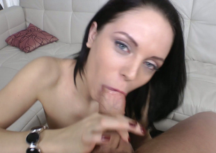 Dear spoil Lexy Fox nailed prevalent doggystyle after popular blowjob