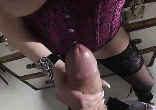 Shione Cooper asks her man to drill her charming mouth