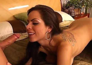 Brunette Yurizan Beltran and the brush horny bang buddy Derrick Prick have a lot of sexual energy to spend