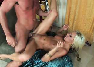 Kacey Jordan gets pumped the similarly she loves well-found