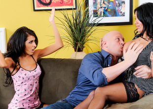 Sienna West & Lexi Diamond & Christian XXX in Overprotect You And Me Make 3, Instalment #04