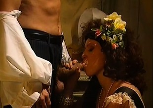 Karen plays around nearby some pussy before she gets Davy Jones's locker fucked
