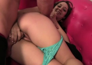 Spoony young prostitute Remy La Croix is possessions her sweet ass licked