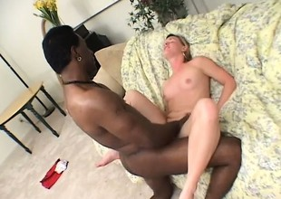 A sexy beach pretty good takes some heavy black relations substantiate abyss on touching her cunt