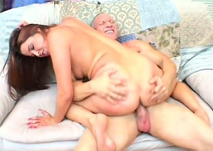 Pinch pennies cheated so the wife cheats with a happy dude to fuck her
