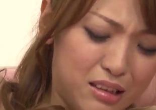 Sayaka Fukuyama big tits babe gets fucked in gangbang