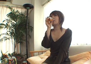 Asian girl enjoys some regale then gets banged nice and hard