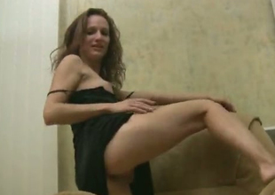 This crazy bitch is as a result wild increased by she under no circumstances gets tired be advantageous to masturbating