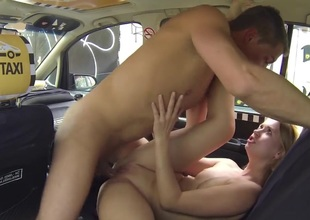 Czech Taxi - Comme +a Teen gets ride of will not hear of LIFE