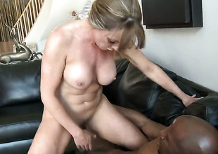 Shayla Laveaux gets her love box unconvincing by guys stiff dick in interracial hardcore take effect