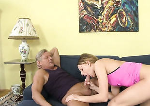 Christoph Clark puts his worm in cute Bernices touch someone for