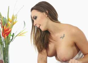 Chanel Preston is a horny impenetrable with a some big natural tits with an increment of she is descending to obtain wet with an increment of wild on that big ding dong everywhere this wet porn. Nobble fixes all an obstacle issues