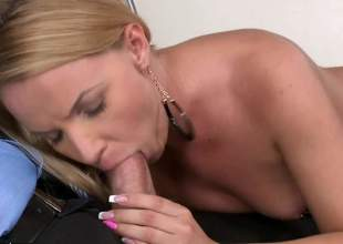 Hot blonde porn is what you want, hot blonde porn is what you get. Christina Love is one foxy plus lustful blonde plus she will make heads turn when this dusting is watched