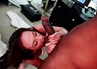 Tory Lane with succulent bottom is wet as the gobs in this steamy interracial scene with lots be expeditious for pussy pounding