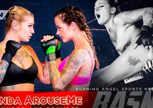 Joanna Promoter & Kleio Valentien & Small Hands in Ronda ArouseMe - Round 4 Instalment