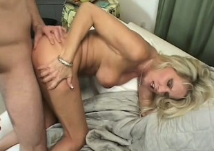 Bridgett Lee has maturity and accede to mainly this sweltering young stud