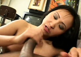 Asian fuck queen smokes plus gives head like a pro take the baneful guy