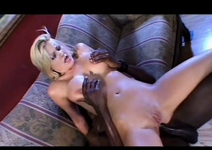 Staci Barb has a enormous inky stick exploring every corner of her botheration